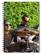 Dave Lombardo And Pancho Tomaselli Spiral Notebook