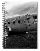 Dc-3 Iceland Spiral Notebook