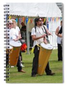 Dende Nation Samba Drum Troupe Spiral Notebook