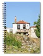 Derelict House Spiral Notebook