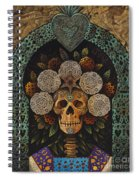 Dia De Muertos Madonna Spiral Notebook