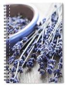 Dried Lavender Spiral Notebook
