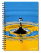 Drop Of Water Spiral Notebook