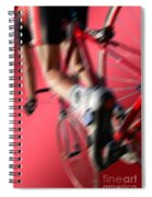 Dynamic Racing Cycle Spiral Notebook