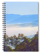 Early Morning On Blue Ridge Parkway Spiral Notebook