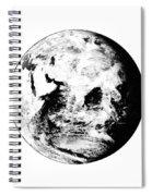 Earth Globe Spiral Notebook
