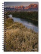 Eastern Sierras And Owens River Spiral Notebook