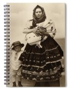 Ellis Island Women, C1910 Spiral Notebook