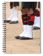 English Uniforms Spiral Notebook
