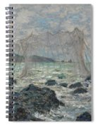 Fishing Nets At Pourville Spiral Notebook