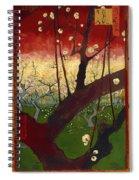 Flowering Plum Tree Spiral Notebook