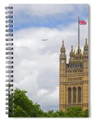 Flying The Colours Spiral Notebook