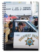 Ford Diplomat Police Car Spiral Notebook