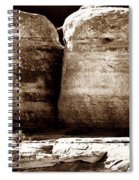 Four Boulders Spiral Notebook