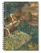 Four Dancers Spiral Notebook