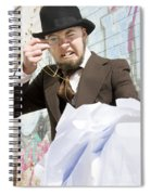Frustrated Businessman Spiral Notebook