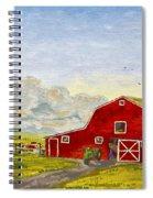 Grandpa's Farm Spiral Notebook