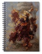 Grapes And Architecture Spiral Notebook