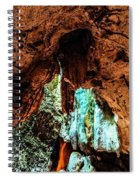 Green Grotto Caves Spiral Notebook