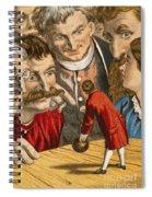 Gullivers Travels Spiral Notebook