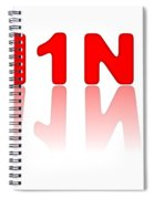 H1n1 Sign Spiral Notebook