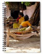 Hampi Bazaar Spiral Notebook