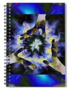 3  Hands Creating #2 Spiral Notebook