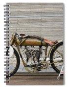 Harley-davidson Board Track Racer Spiral Notebook