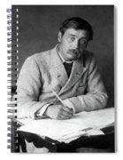 Herbert George Wells (1866-1946) Spiral Notebook