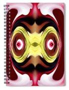 Horizon Abstract Spiral Notebook