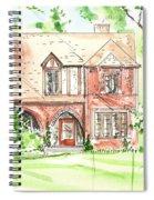 House Rendering Sample Spiral Notebook