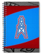 Houston Oilers Spiral Notebook