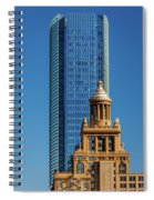 Houston, Texas - High Rise Buildings Spiral Notebook