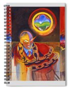 I Saw The Figure Five In Gold Spiral Notebook
