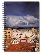 Ibiza Town Spiral Notebook
