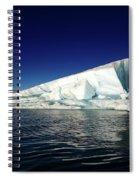 Icebergs-jokulsarlon Glacial Lagoon Spiral Notebook