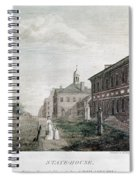 Independence Hall, 1798 Spiral Notebook