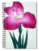 Japanese Flower Spiral Notebook
