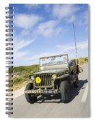 Jeep Willys Spiral Notebook