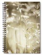 June Grass Flowering Spiral Notebook