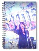 Katey Sagal Spiral Notebook