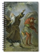 King Lear, 19th Century Spiral Notebook