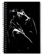 Kiss Me Spiral Notebook