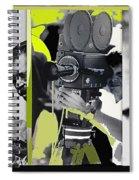 3 Kvoa Tv News Cinematographers Frank Sharkey Dave Sonderegger Jackie Sharkey Tucson Az Collage 2011 Spiral Notebook