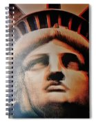 Lady Liberty Spiral Notebook