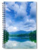 Lake Santeetlah In Great Smoky Mountains North Carolina Spiral Notebook
