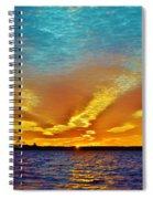 3 Layer Sunset Spiral Notebook