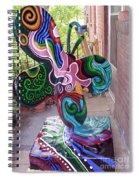 Le Mileau Mode Spiral Notebook