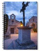 Les Baux Iron Cross Spiral Notebook