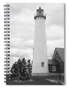 Lighthouse - Tawas Point Michigan Spiral Notebook